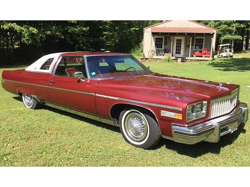 1976 BUICK ELECTRA Limited Landau 2dr coupe 455 V8 auto air tilt cruise loaded always garag