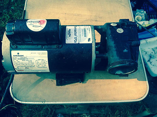 POOL PUMP 230V 5hp motor 2spd good condition 379 new only asking 75 423-612-3519