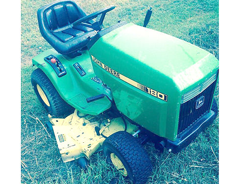 LAWN TRACTOR John Deere 180 transaxel bad all other parts good including FC540OV Kawasaki engine
