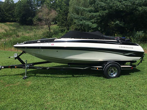 2005 CROWNLINE 180BR low hours 43L IO looks  runs great incl trailer moving need to sale 10