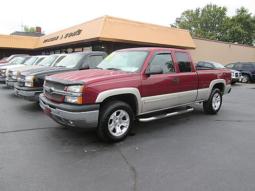 2005 CHEVY 1500 Z71 ext-cab 4 dr 4x4 53 V8 auto all power spray in liner tube bars late mod