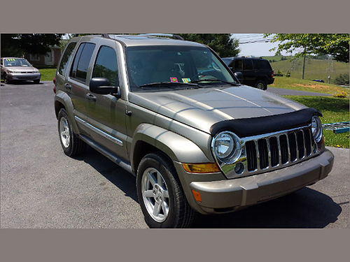 2006 JEEP LIBERTY LIMITED psunroof auto loaded leather 472 Was 7995 Now 5995 MR DS AUTOMOTI