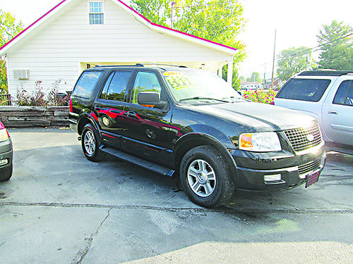 2003 FORD EXPEDITION Eddie Bauer 4x4 leather sunroof p3rd row loaded high miles runs  looks