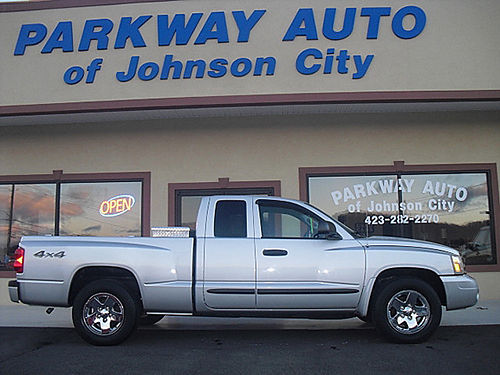 2005 DODGE DAKOTA LARAMIE 4x4 128k J-0504 8450 PARKWAY AUTO OF JC