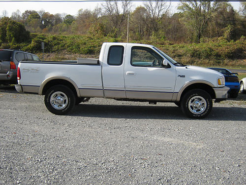 1997 FORD F150 4x4 tow hitch v8 auto air ps pb pw pl leather 97F150 3495 JIMS 11E AUTO S