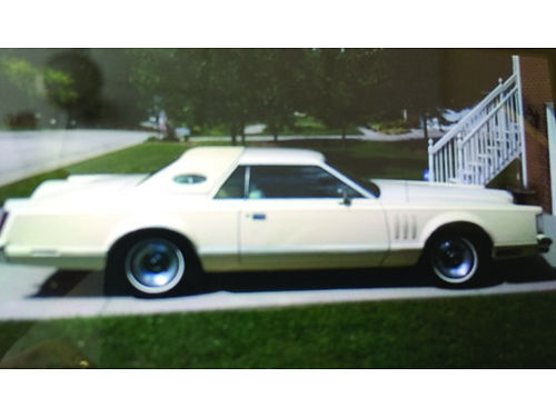 1978 LINCOLN MARK IV Hard Top Triple pale yellow 460 engine new radial tires My mothers car sin