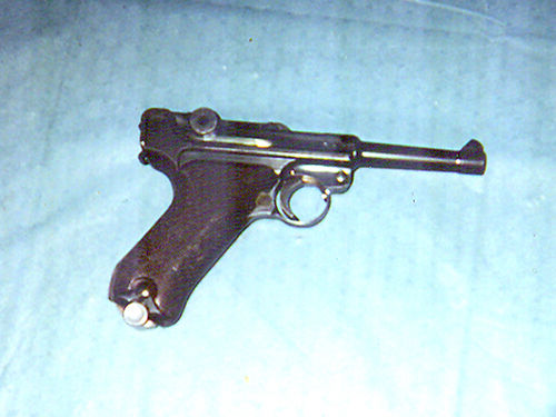 HANDGUN 1938 German Luger extremly rare few seen in EC used in WWII in Battle of the Bulge all m
