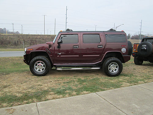 2006 HUMMER H2 LUXURY 2 to choose from 4x4 leather loaded new tires nav back up camera runs