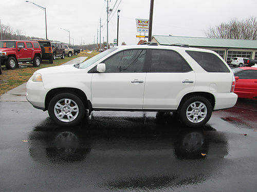 2006 ACURA MDX TOURING auto all power loaded 3rd row nice clean local trade 1130A Was 10900