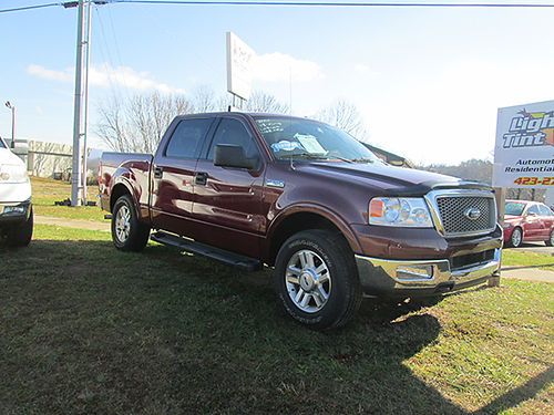 2004 FORD F150 OARIAT Crew cab v8 auto 4x4 148k leather runs great sunroof alloys Was 13900