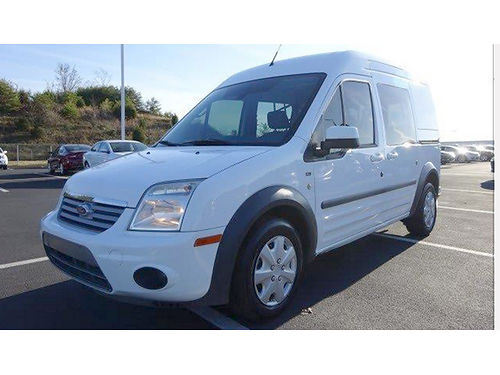 2012 FORD TRANSIT CONNECT XLT Wagon white 4dr keyless entry air pw pl cd CT095412 9923 Auto