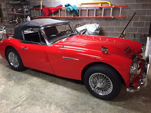 1967 AUSTIN HEALEY 3000 Mark lll Phase ll BJ8 55K actual 4 spdod totally restored everything