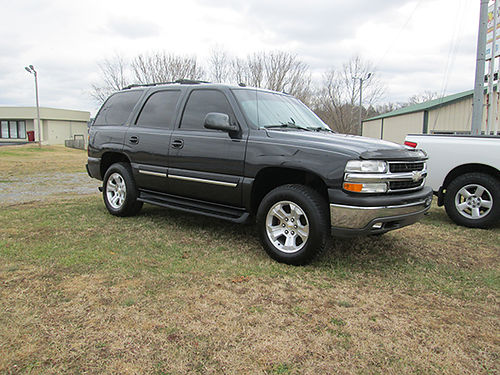 2005 CHEVY TAHOE LT 4WD loaded lether sunroof alloysauto 1127 Was 12900 Now 11800 LIGHTN