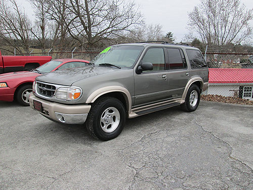 2000 FORD EXPLORER Eddie Bauer 4x4 6cyl auto leather psunroof fully loaded local trade 131k
