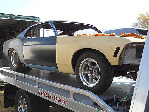 1969 FORD MUSTANG Mach 1 Pro Street new frame 9 4 link Mustang II rollbar tubbed 429 Boss hoo