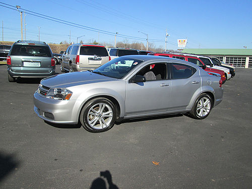 2014 DODGE AVENGER cloth auto v6 nice car with alloy wheels 40k 60189 Was 12900 Now 11900