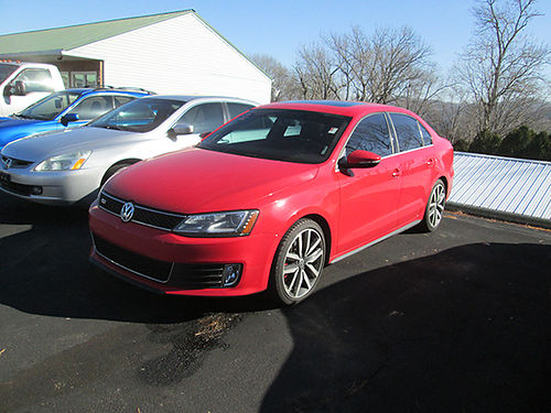 2014 VW JETTA GIL 30th Edition auto leather nav roof nice clean local trade Rare 74k 59629