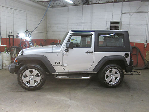 2008 JEEP WRANGLER X 4x4 hardtop 6cyl air right hand drive great mail vehicle alloys auto cd