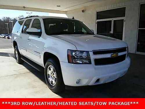 2012 CHEVY SUBURBAN LT 4WD 3rd row seats leather loaded 16N-1950 24586 BILL GATTON NISSAN USE