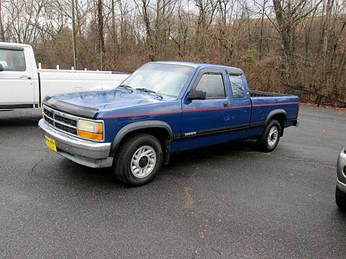 1993 DODGE DAKOTA 5sp 2WD v6 runs good 7486 2500 VA DLR - SUPERIOR MOTORS Bristol VA