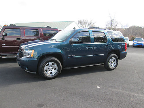 2007 CHEVY TAHOE LT 3rd row 4WD auto air leather sharp Must See 6587 Was 16900 Weekly Sp