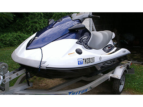 2011 YAMAHA VX WAVERUNNER VX Deluxe Jet Drive boat 11 long seats 3 110hp cover and trailer 23