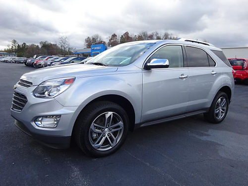 2016 CHEVY EQUINOX LTZ AWD only 8000 miles pw pl pseats 12476 Was 29500 Now 26289 VA D