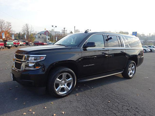2016 CHEVY SUBURBAN LT AWD leather int pseats heated seats ps pl 12453 Was 49995 Now 45