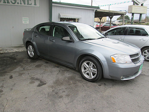 2008 DODGE AVENGER SXT v6 auto all power cd keyless entry sunroof alloys GC TCAA01 CALL ALL