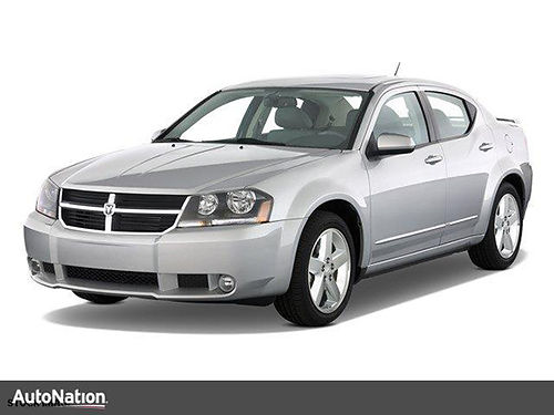 2008 DODGE AVENGER RT 4dr keyless entry v6 auto air pw pl cd 8N108578 6821 AutoNation Chr
