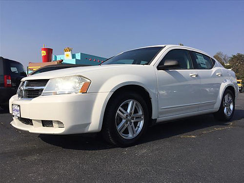2008 DODGE AVENGER white 4cyl 145194 mi CS7456B Gateway Auto Center Jonesborough TN