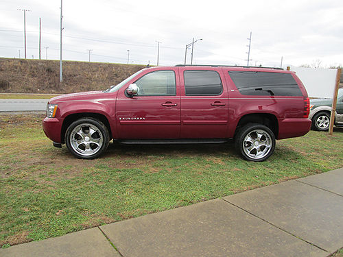 2007 CHEVY SUBURBAN LT 3rd row 20 wheels 4x4 4396 Was 17900 Now 15900 LIGHTNING AUTO SALES