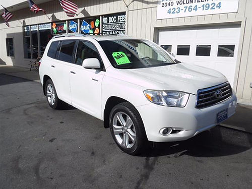 2008 TOYOTA HIGHLANDER LIMITED AWD P8479 13950 PARKWAY AUTO SALES Bristol TN