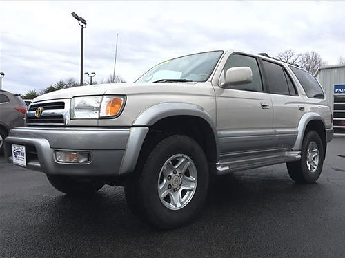 1999 TOYOTA 4RUNNER LIMITED 4x4 6cyl leather loaded CS7295 CALL Gateway Auto Center Jonesboro