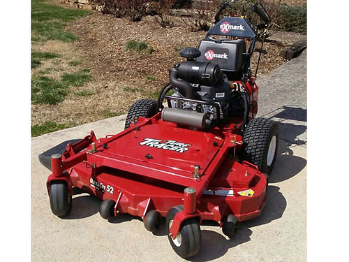 LAWN MOWER Ex-Mark Turf Tracer X-Series only 47hrs Kawasaki FX691 52in cut well maintained all