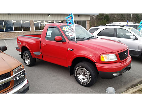 2003 FORD F150 red 6cyl CS1495A Gateway Auto Center Jonesborough TN