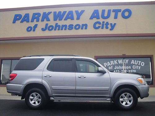 2005 TOYOTA SEQUOIA 4x4 leather sunroof 182k J-3312 8950 PARKWAY AUTO OF JC