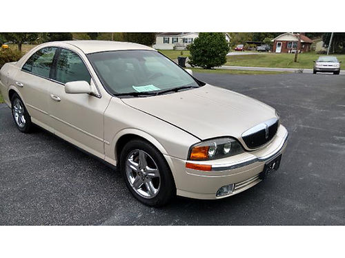 2001 LINCOLN LS 4dr clean low miles loaded 487 3995 MR DS AUTOMOTIVE Piney Flats TN