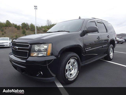 2007 CHEVY TAHOE LT black 4dr 53L tow pkg auto air pw pl cd 7J114998 12133 AutoNation C