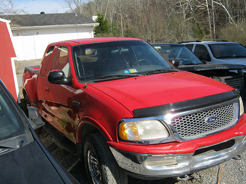 1997 FORD F150 4x4 stepside bed v8 auto air pw pl cd 2733 5995 JJ AUTO SALES Kingsport T