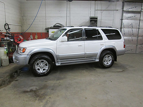 2000 TOYOTA 4RUNNER LIMITED 4x4 v6 auto leather cd cleaa ns you will find runs out great new M