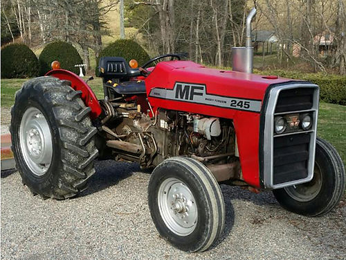 TRACTOR Massey Fergusun 245 Orchard 3000hrs 1 owner barn kept well mainted new tires VGC 7500