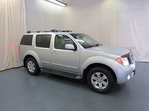 2005 NISSAN PATHFINDER pearl 4dr keyless entry auto 5sp loaded pw pl cd leather 22218UA 96