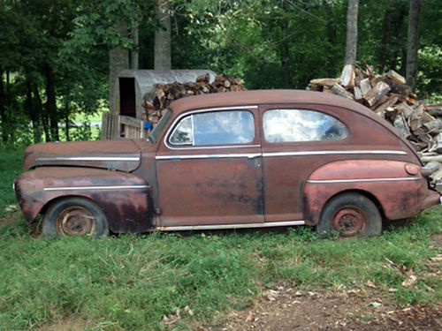 1947 FORD SEDAN 2 both fair condition lots of extra parts 5000 both obo 423-348-7399 or 423-765