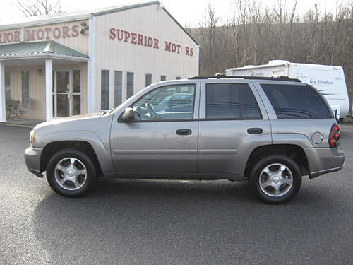 2008 CHEVY TRAILBLAZER 4x4 auto air clean 81000 miles 7533 9995 VA DLR - SUPERIOR MOTORS Br