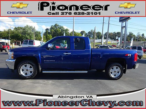 2013 CHEVY 1500 4x4 Ext Cab LT 50000 miles 1 owner nice truck 7057A 32900 VA DLR - PIONEER C