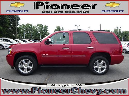 2013 CHEVY TAHOE LTZ 4x4 only 41000 miles 1 local owner all service records  42995 VA DLR -