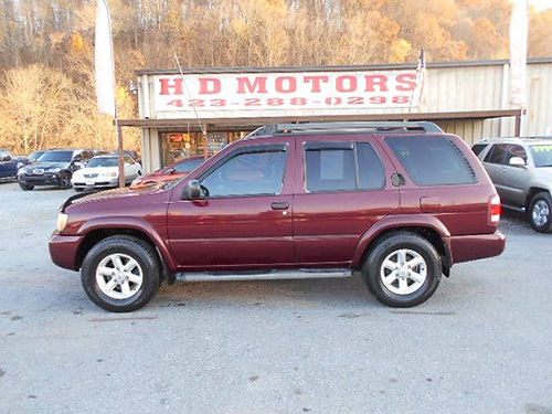 2003 NISSAN PATHFINDER SE 4x4 v6 auto all power alloys Cash Special 805236 3999 HD MOTORS