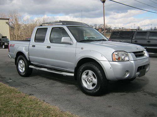2001 NISSAN FRONTIER SE Crew Cab 4x4 4dr Keyless Entry 6cyl Auto Loaded Air Pl Pw CD 6021