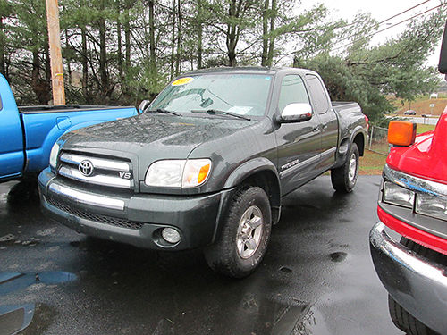2005 TOYOTA TUNDRA SR5 Step Side 120k miles 4x4 v8 auto air cd alloys 2781 14900 LIGHTNING